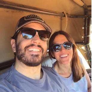 Monica y Carlos de Asociacion Tabaiba
