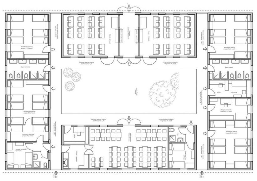 Proyecto del arquitecto Riccardo Pedone